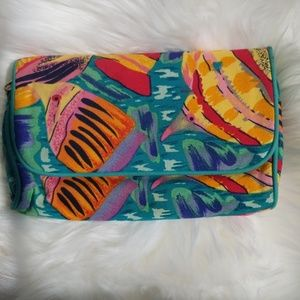 Vintage Makeup Bag by Ted Lapidus